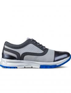Grey Wingtip Bowling Sneakers