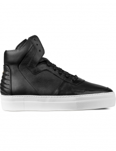 Black Neptune Calf High Top Sneakers