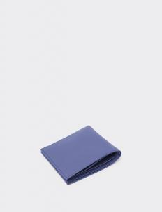Signature Navy Blue Bi-Fold Wallet