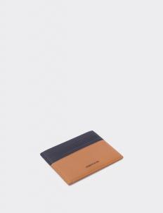 Up Down Royal Black & Tan Card Holder