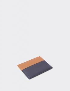 Up Down  Tan & Royal Black Card Holder