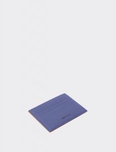 Reversible Navy Blue & Tan Card Holder