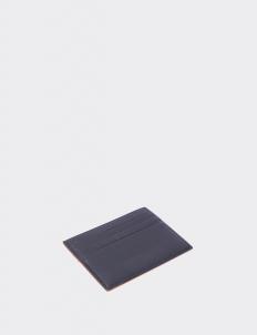 Reversible Royal Black & Tan Card Holder