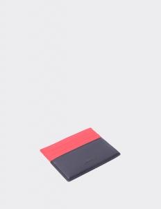 Up Down Mars Red & Royal Black Card Holder