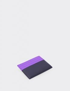 Up Down Lavender & Royal Black Card Holder