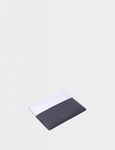 Up Down Silver & Royal Black Card Holder