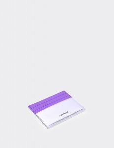 Up Down Lavender & Silver Card Holder