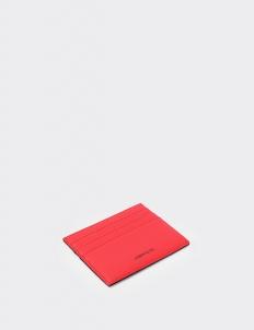 Reversible Mars Red & Royal Black Card Holder