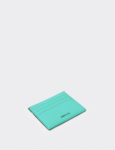 Reversible Turquoise & Royal Black Card Holder