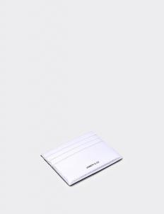 Reversible Silver & Royal Black Card Holder