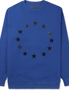 Blue Stars Crewneck Sweater