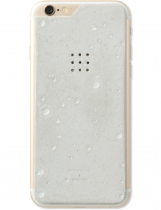 Luna Concrete Skin for iPhone 6 (Craters)