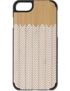 White Feather Bamboo iPhone 6 Case