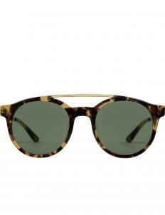 Tortoise with Green lens Luca Sunglasses