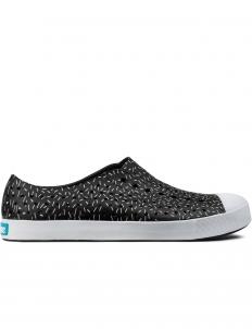 Jiffy Black/Sprinkle Print Jefferson Shoes