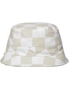 White Checker Hat