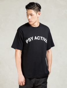 Black Psy Active T-shirt