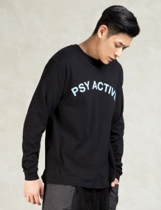 Black Psy-activity L/s T-shirt