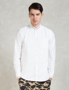 White Pitcher Oxford L/S Shirt