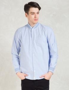 Blue Pitcher Oxford L/S Shirt