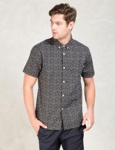 Black Dot Outline Shirt