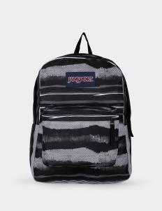 Superbreak Multi Black Painted Stripes