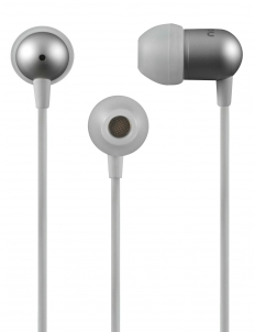 White NS200 Aluminum iOS Earphones