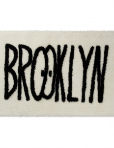 White Feat Kevin Lyons BROOKLYN RUG