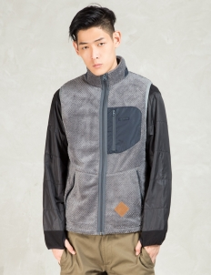 Grey Thermal Fleece Vest