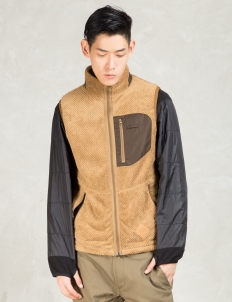 Brown Thermal Fleece Vest