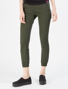 Olive Women Sprinter Jogger Pants