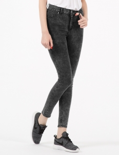 Marble Ice High Spray Super Skinny Jeans