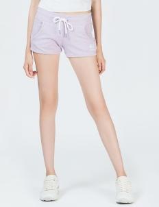 Purple Fitness Knit Shorts