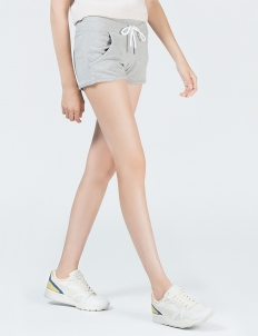 Grey Fitness Knit Shorts