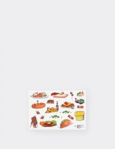 Food Glossy Vinyl Sticker
