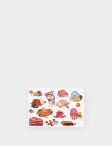 Dessert Glossy Vinyl Sticker