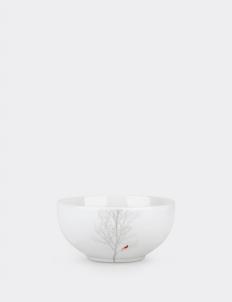 Set of 4 Cereal Bowl Winter Cardinal