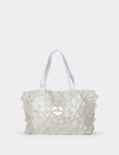Eggshell Nero Bag