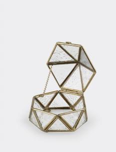 Gold Vintage Jewelry Box