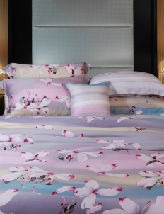 Orchid Flower Quilt Cover 260