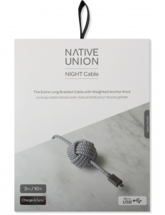 Zebra Night Cable Lightning (Micro - USB)