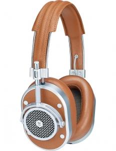 Silver MH40 Headphones