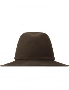 Brown  × ComesAndGoes Traveller Hat