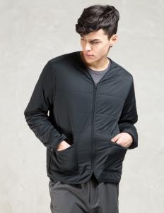 Black Flexible Insulated Cardigan