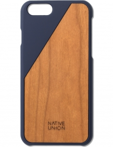 Blue Clic Wooden Iphone6+ Case Cherry