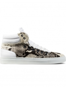 Snake Prink Pony Hair Opus High Top Sneakers
