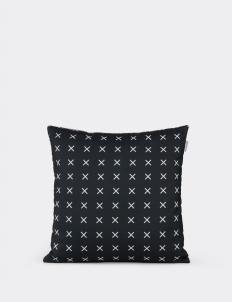 Cross Print Cushion Cover