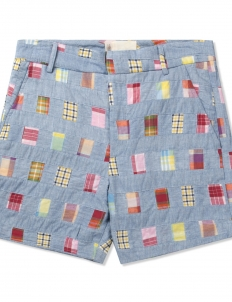 Multicolor Tailored Shorts