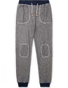 Blue Loop Stripe Sweatpants