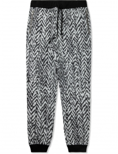 Black Fleece Elastic Waistband Sweatpants